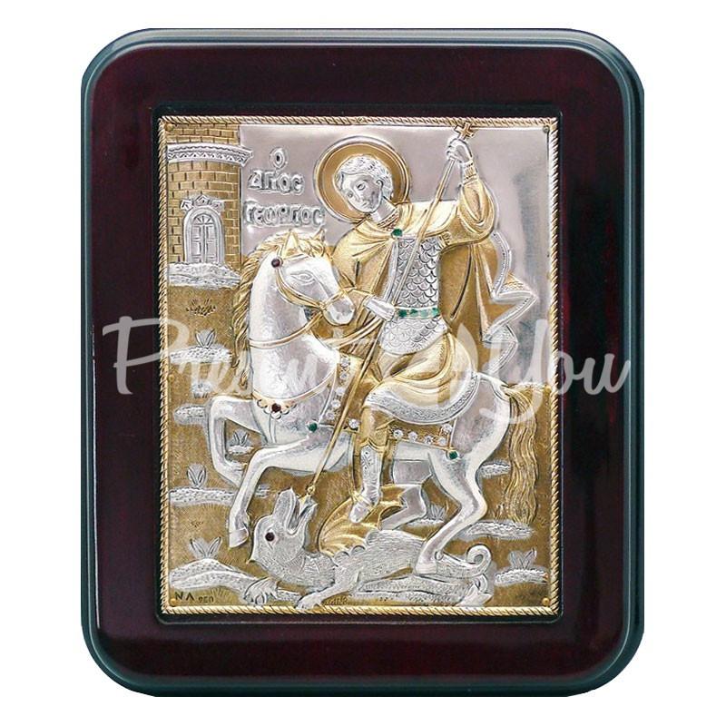 Икона «Святой Георгий Победоносец», 14х18 см.
