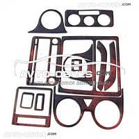 Накладки на панель VolksWagen Caddy 2004-2010, 16 элем