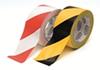 Лента безопасности 50mm x 33m, самоклеящаяся, желтый/черный (HPX)
