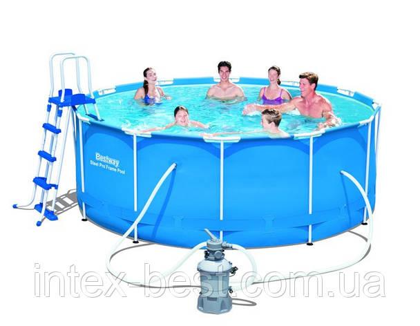 Каркасный бассейн Bestway 56414 (56259) (366x122см), фото 2