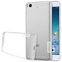 Чехол накладка силиконовый TPU Nillkin Nature 0.6 мм для Xiaomi Mi 5s белый