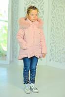 Куртка «Бант», розовый Рост:122-152см, фото 1
