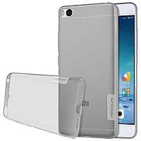 Чехол накладка силиконовый TPU Nillkin Nature 0.6 мм для Xiaomi Mi 5s серый