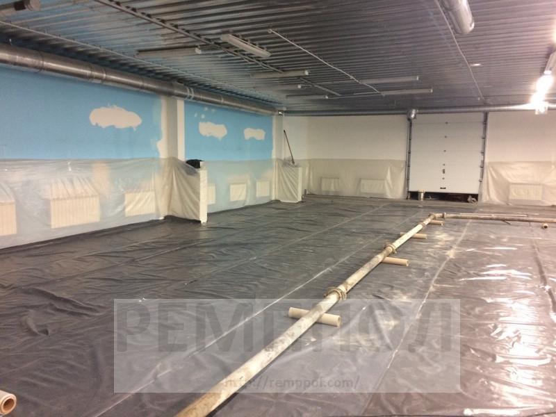 Устройство бетонных промышленных полов с упрочненным верхним слоем (топпинг Cerecit CF-56)  и использование фибра бетона (добавление... 4