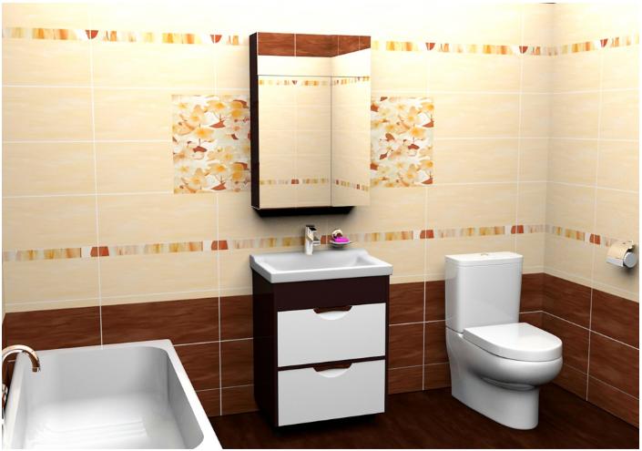 Комплект мебели в ванную тернополь