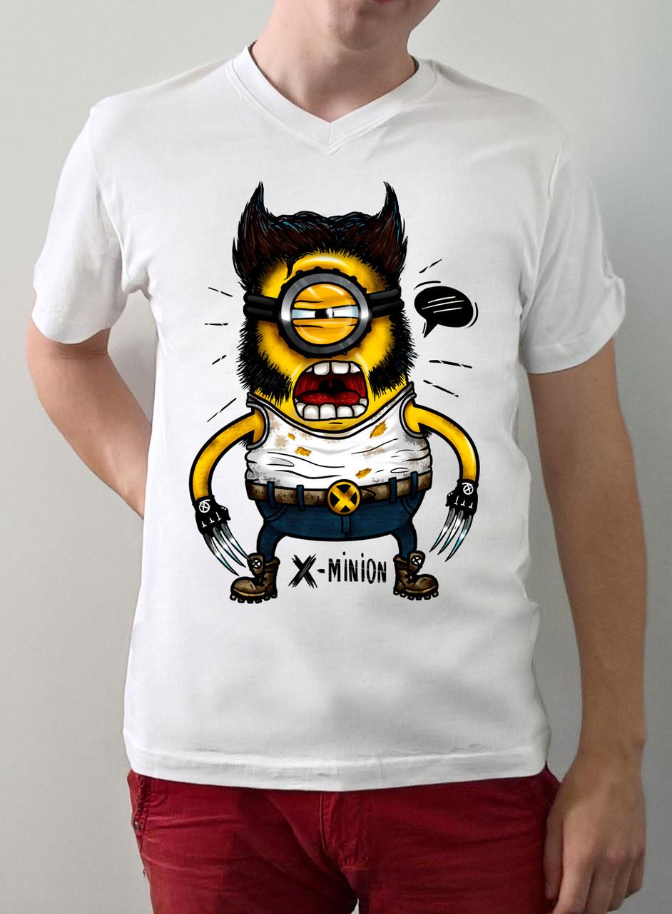 "Мужская футболка ""X-minion"""