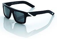 "Спортивные очки 100% ""BOWEN"" Sunglasses Matte Black/White - Grey Tint"