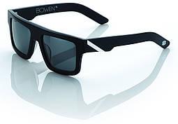 Спортивные очки 100% Bowen Sunglasses Matte Black/White - Grey Tint