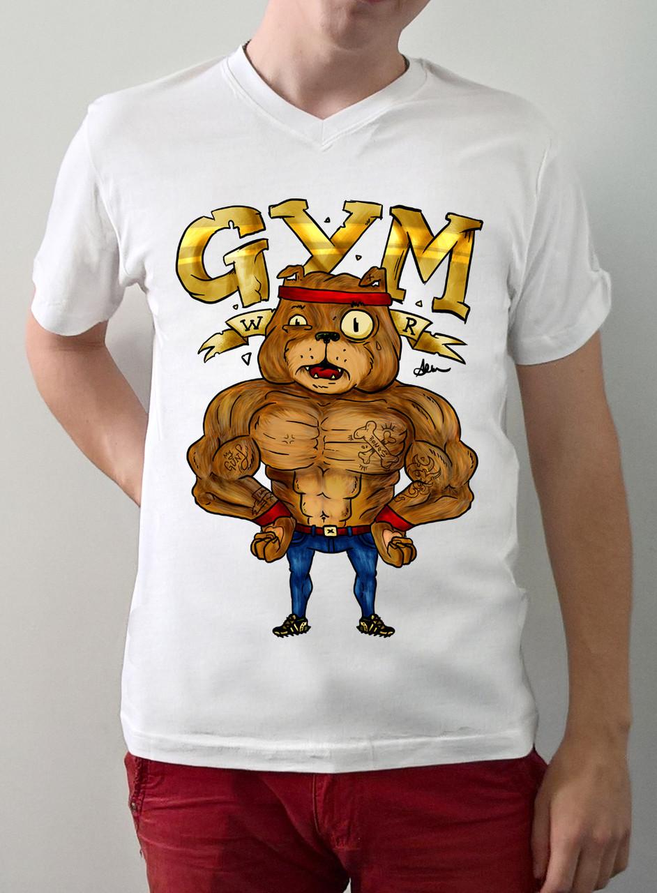 """Мужская футболка """"GYM"""""""