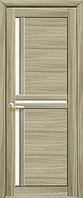 Дверное полотно Тринити сандал со стеклом сатин