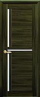 Дверное полотно Тринити кедр со стеклом сатин