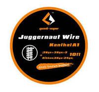 Намотка 10ft GeekVape Juggernaut (28GA+38GA)x2+Ribbon(38GAx24GA) 3 МЕТРА