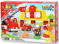 Конструктор для малышей Пожарная станция 69 деталей