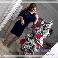 """Платье женское нарядное больших размеров """"Бархат"""""""