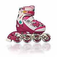 Роликовые коньки детские EXPLORE ACTIVA girl Розовые