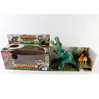 Динозавр 1191 2 см, 2шт-16см, звук, свет, на бат-ке(таб), в кор-ке, 35-14-25см