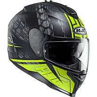Шлем HJC IS17 Enver MC4HSF черно-желтый, L