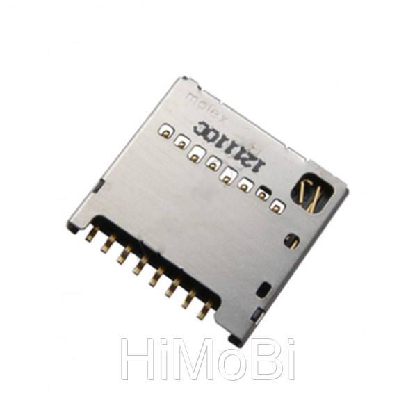 Connector Sim LG D285/ D325/ D380/ E455/ E615/ P715/ T370/ T375 (на 2 сим карты) - HiMoBi в Николаеве