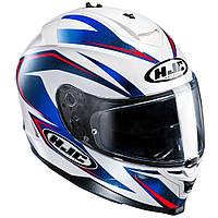"Шлем HJC IS17 OSIRIS MC2 white\blue ""XL"", арт. 121202"