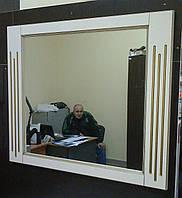 Зеркало Диона-2 бьянко (950*20*820) с подсветкой, ТМ Николь