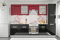 Кармен кухня Мебель-Сервис 3000 мм
