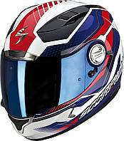 "ШЛЕМ Scorpion EXO-1000 AIR Airline white/blue/red  ""L"", арт.25-135-74, арт. 25-135-74"