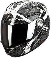 "ШЛЕМ Scorpion EXO-1000 AIR PETROL  Matte WHITE  ""L"", арт.25-148-55, арт. 25-148-55"