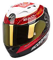 "ШЛЕМ Scorpion EXO-1200 AIR Replica Charpentier black/white/red ""L"", арт. 45-165-105"