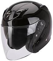 Открытый шлем Scorpion EXO-220 черный, L, фото 1