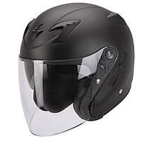 Открытый шлем Scorpion EXO-220 черный матовый, L, фото 1