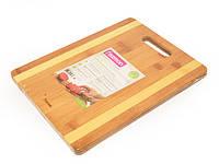 Доска разделочная Fissman бамбук 33х25х1,5 см (CB-8782.33)