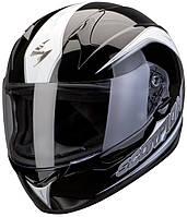 "ШЛЕМ Scorpion EXO-410 AIR GLIDE Black\white ""L"", арт.41-131-55, арт. 41-131-55"