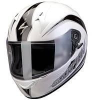 "ШЛЕМ Scorpion EXO-410 AIR GLIDE Pearl white\Black ""M"", арт.41-131-63, арт. 41-131-63"