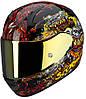 "ШЛЕМ Scorpion EXO-410 AIR Hell Hound Black\Multi ""S"", арт.41-142-99, арт. 41-142-99"