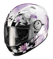 "ШЛЕМ Scorpion EXO-500 AIR NELLY Pearl white/Purple ""M"", арт. 50-083-63, арт. 50-083-63"
