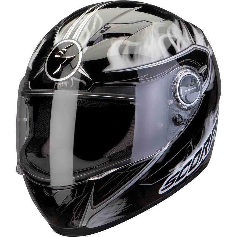 "Шлем Scorpion EXO-500 AIR SHADOWS Black\White ""XL"", арт.50-123-55, арт. 50-123-55"