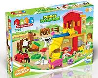 Конструктор для малышей Веселая ферма 60 деталей