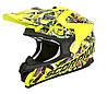 Шлем внедорожный Scorpion VX-15 EVO Air Vector neon yellow/multi, M