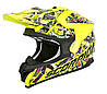 Шлем внедорожный Scorpion VX-15 EVO Air Vector neon yellow/multi, L