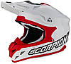 Шлем внедорожный Scorpion VX-15 EVO Air белый/красный, 2XL