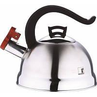 Чайник 2,5 л из нержавеющей стали  Bergner BG 3741-ВК