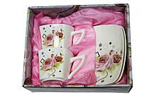 Набор чайный на 2 персоны Роза 150 мл