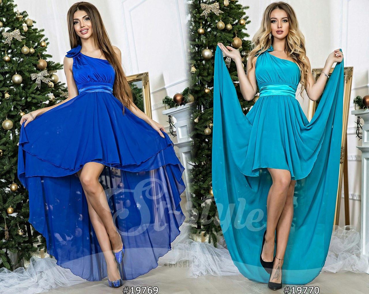 Платье вечернее, размеры УН (42-46) код 609Р