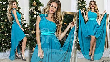 Платье вечернее, размеры УН (42-46) код 609Р, фото 2