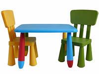 Столик для детской + 2 стула MAMUT