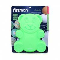 Силиконовая форма для выпечки Fissman Медвежонок 22х19х3 см BW-6737.22