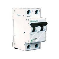 Автоматический выключатель PL4-C63⁄2 х-ка С Eaton (Moeller)