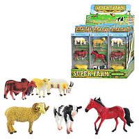Животные Q 9899-197 домашние, 3 шт в кор-ке, 2 вида