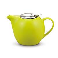 Чайник заварочный с ситечком Fissman 750 мл салатовый