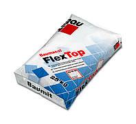Клеящая эластичная смесь для приклеивания всех видов плиток Baumit FlexTop 25 кг